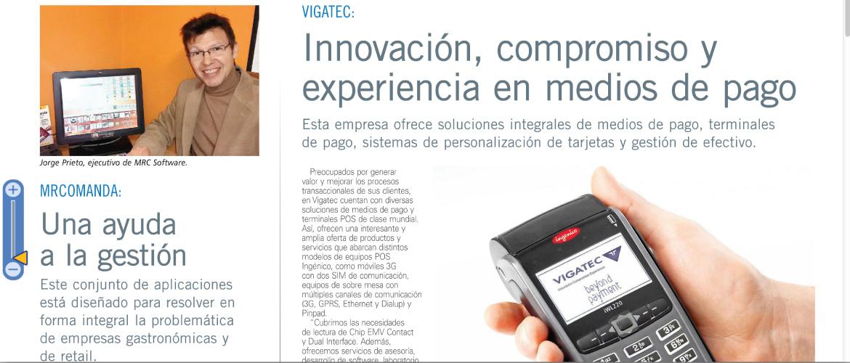 Entrevista software de Punto de venta en EL MERCURIO